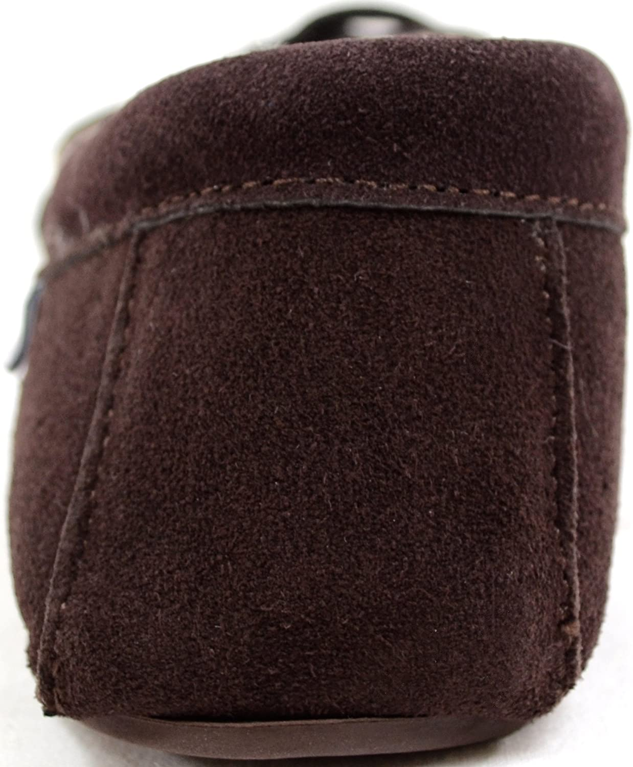 SNUGRUGS Lambswool Moccasin with Rubber Sole Chaussons Homme