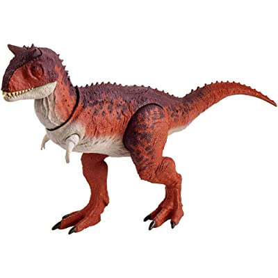 Jurassic World Action Attack Carnotaurus [ Exclusive]: Toys & Games