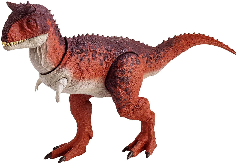 Jurassic Carnotaurus Dinosaur 21 cm Action /& Toy Figures Plastic Collectible toy