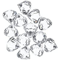 Acrylic Clear Ice Rock Diamond Crystals Treasure Gems for Table Scatters, Vase Fillers...