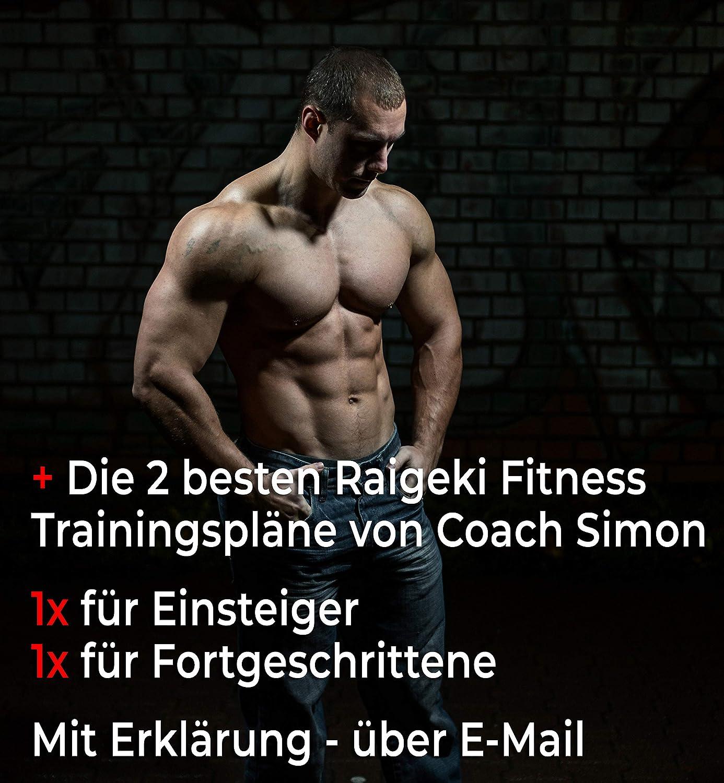 2er Set plus Trainingspl/äne 45cm L/änge, Handgelenk Bandagen f/ür Frauen und M/änner - Wrist Wraps f/ür Krafttraining Crossfit Bodybuilding Handgelenkbandagen Calisthenics /& Fitness Starker Halt