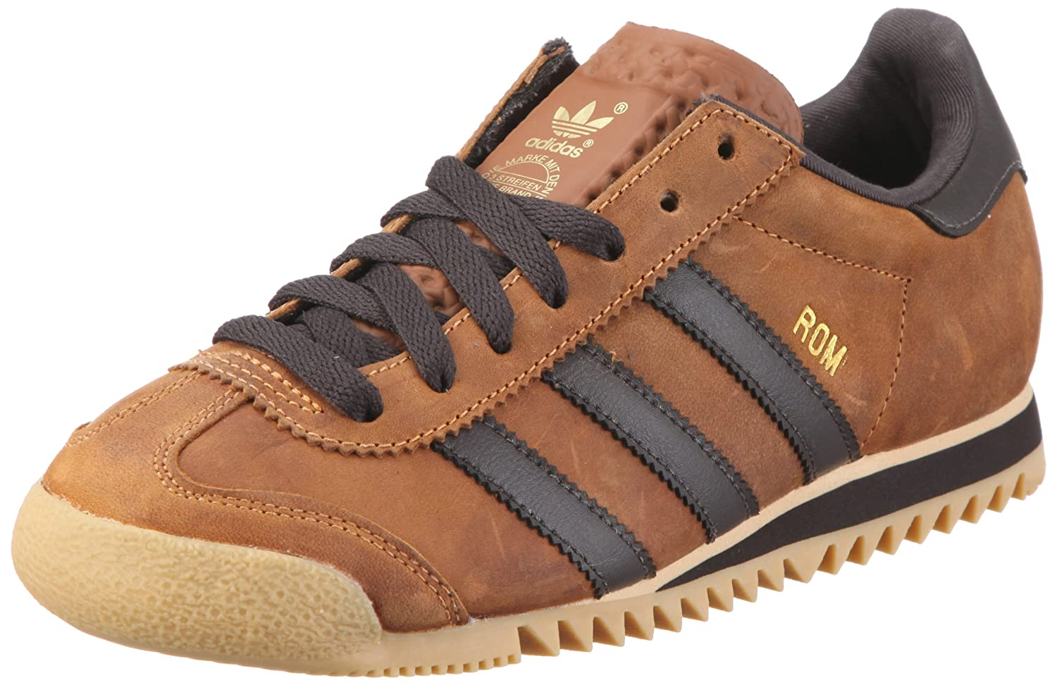 11b36677bd6a adidas Originals Men s ROM Low-Top Sneakers Brown Size  UK 9  Amazon ...