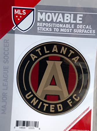 Atlanta united fc 5 vinyl die cut decal sticker repositionable mls soccer football club