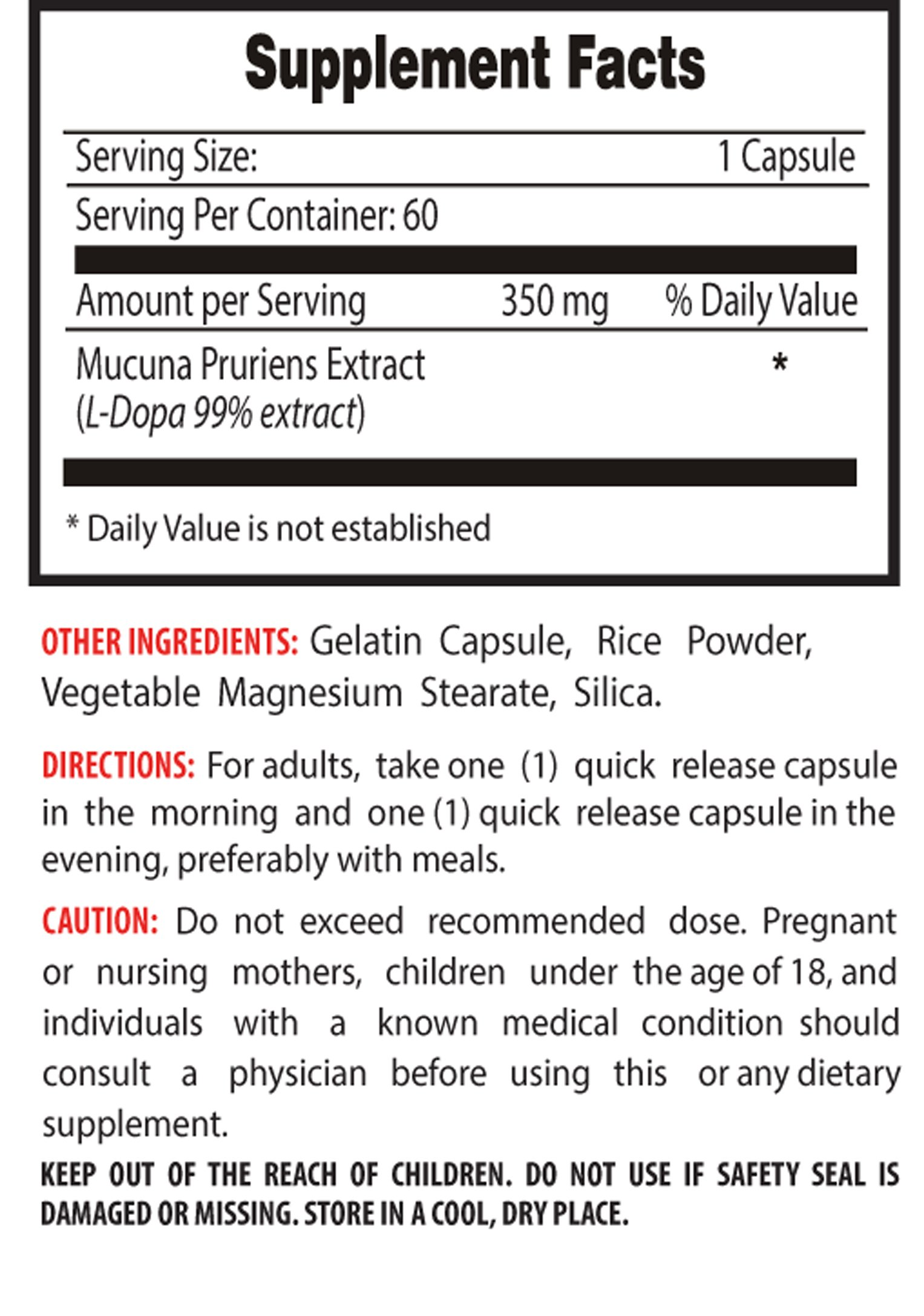 libido increase for women - L-DOPA 350MG - MUCUNA PRURIENS EXTRACT - ENHANCE LIBIDO AND SEXUAL PERFORMANCE - dopa renew - 3 Bottles (180 Capsules)