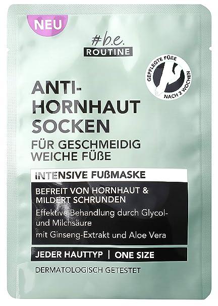 Calcetines antipiel #be routine, pack de 1 unidad (1 x 60 g ...
