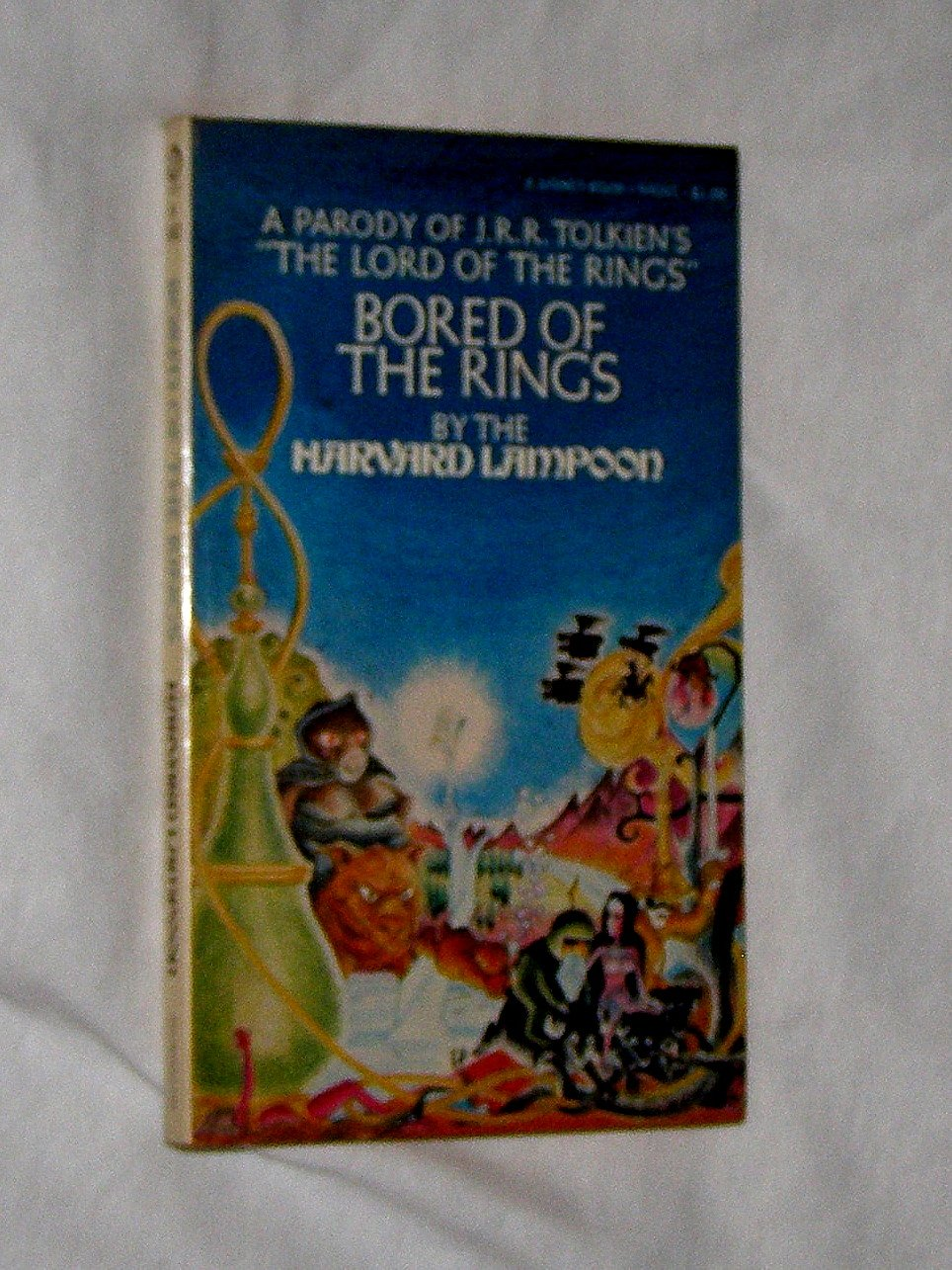 "Bored of the Rings  A Parody of J. R. R. Tolkien's ""The Lord of the Rings"", N., Henry & Lampoon, Harvard"