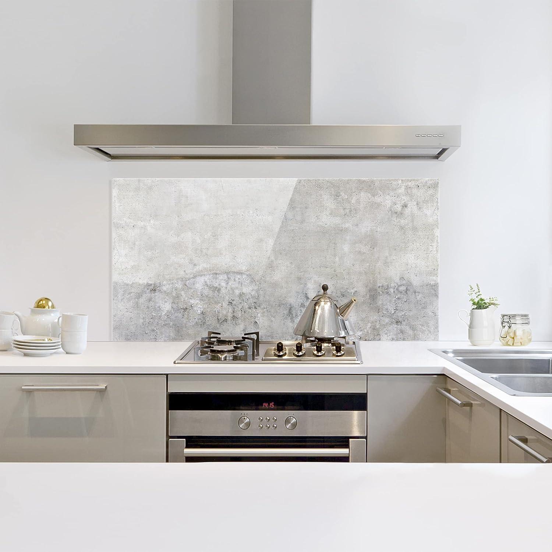 Pannello paraschizzi cucina su misura fabulous paraschizzi in vetro agate gray panoramico - Paraschizzi cucina vetro ...