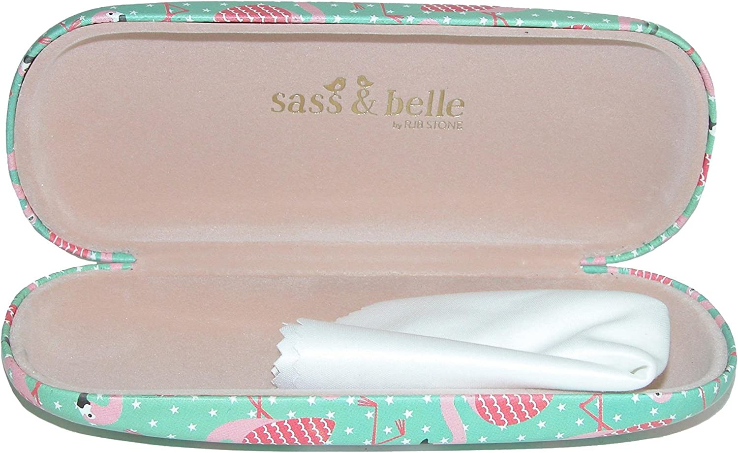 Sass & Belle Prosecco Queen Glasses Case
