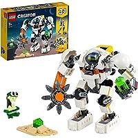 LEGO 31115 Creator 3in1 Ruimtemijnbouw-mecha, Speelgoed Ruimterobot, Vrachtvervoerder, Kinderspeelgoed met Alienfiguur