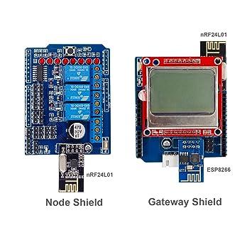 Sunfounder iot internet of things shields kit for arduino build sunfounder iot internet of things shields kit for arduino build your own iot world solutioingenieria Images