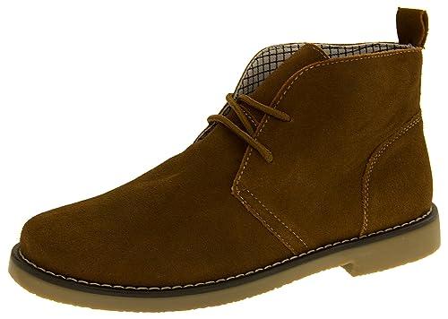 Northwest Territory Hombres Barlow Cuero de Gamuza para no Slip Botas Desierto: Amazon.es: Zapatos y complementos