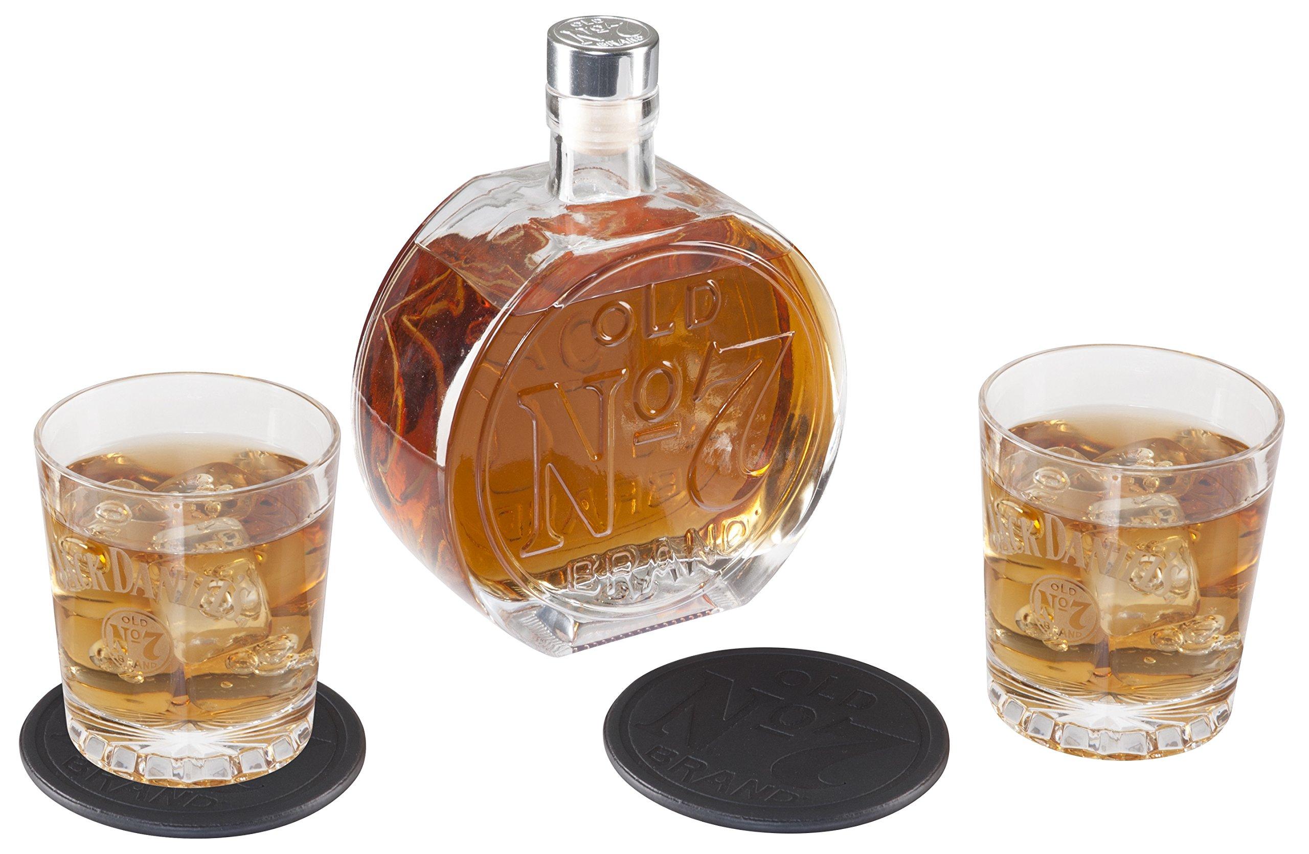 Jack Daniel's Old No.7 Decanter Set by Jack Daniel's
