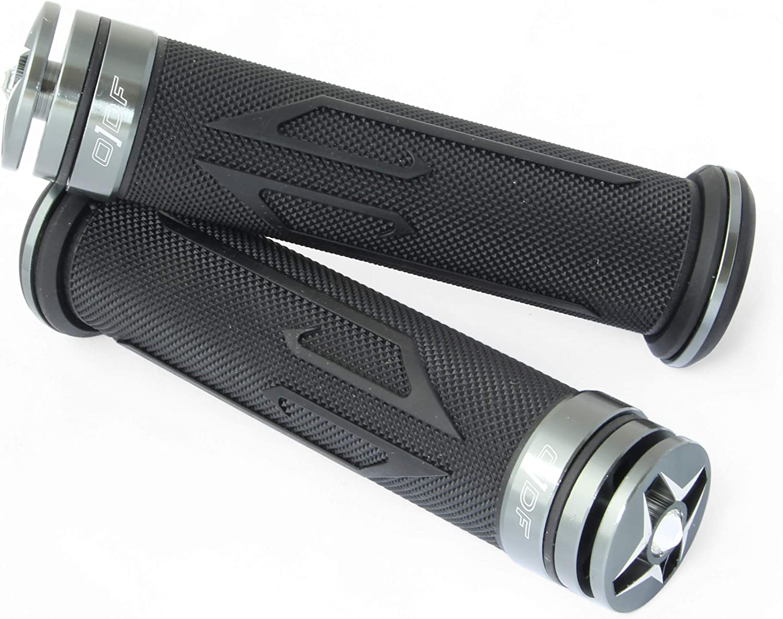 Laser Universal Motorrad//Roller Lenkergriffe Griffgummis 22//24-25mm Orange