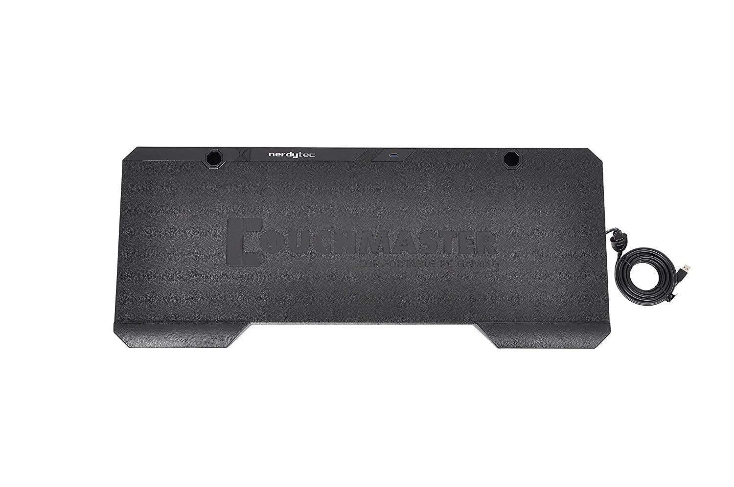 Couchmaster CYCON Suede-Look Black for PC // PS4 // Xbox One The Couch Gaming Desk for Mouse /& Keyboard