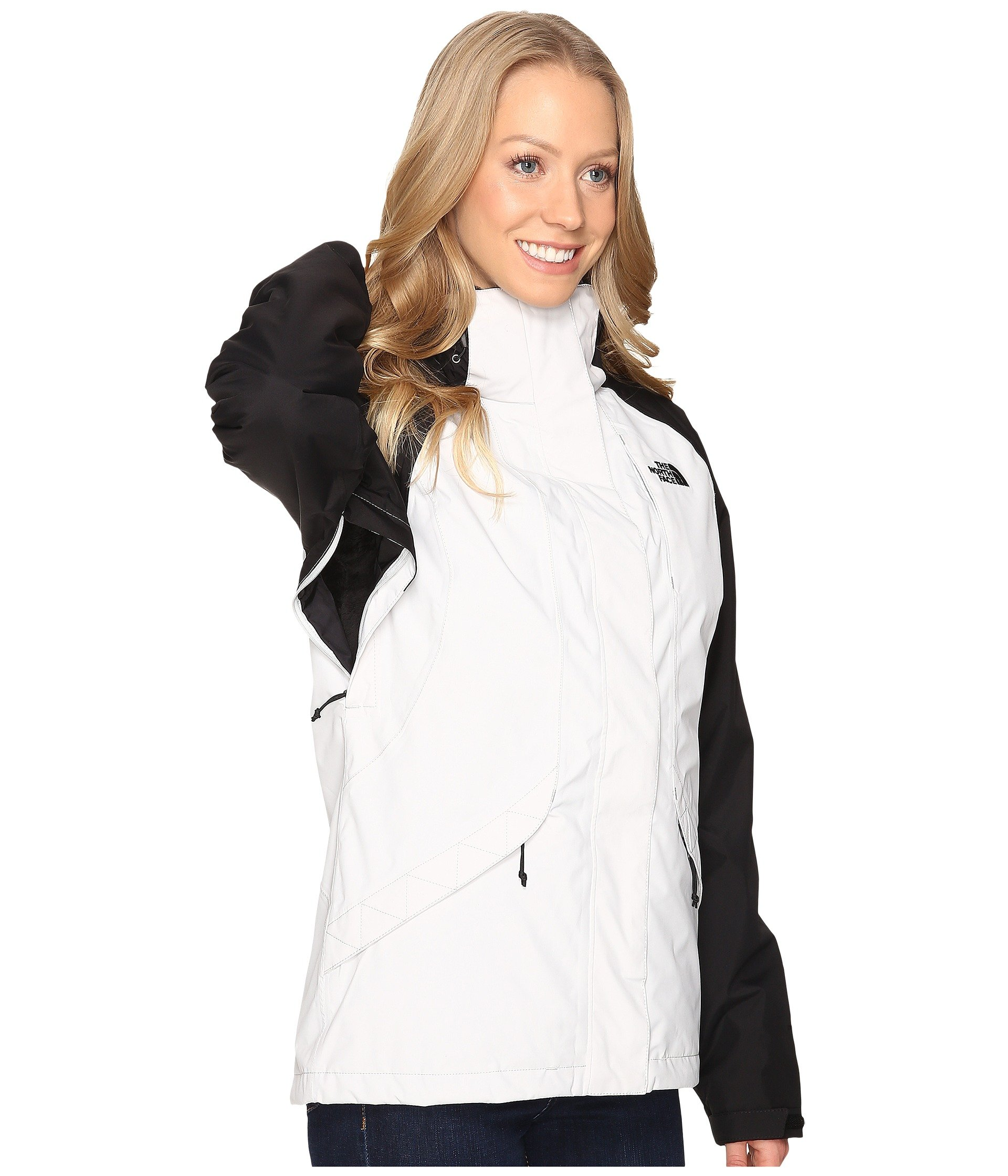 North Face Womens Boundary Triclimate Jacket - Large - Lunar Ice Grey/TNF Black by The North Face (Image #7)