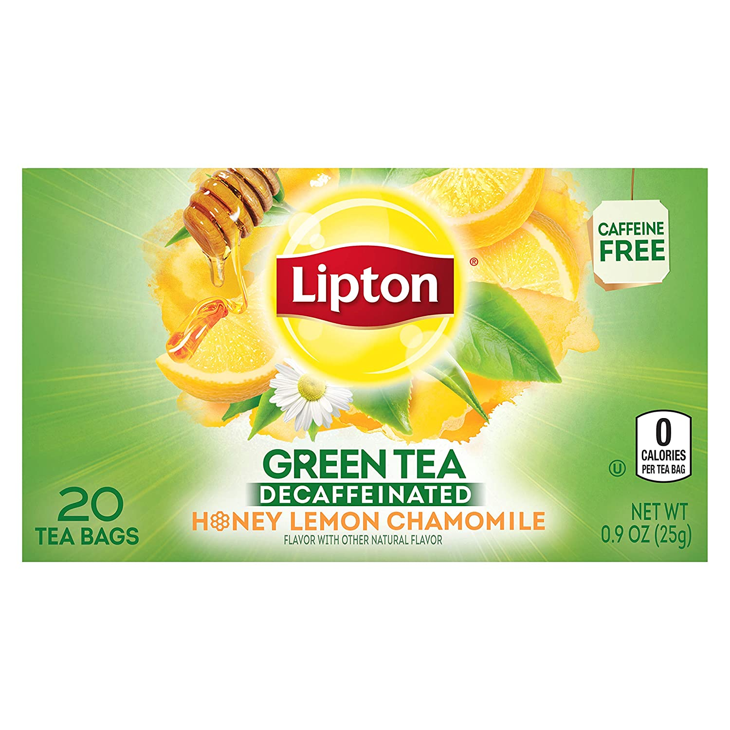 Image result for green tea chamomile and honey lipton