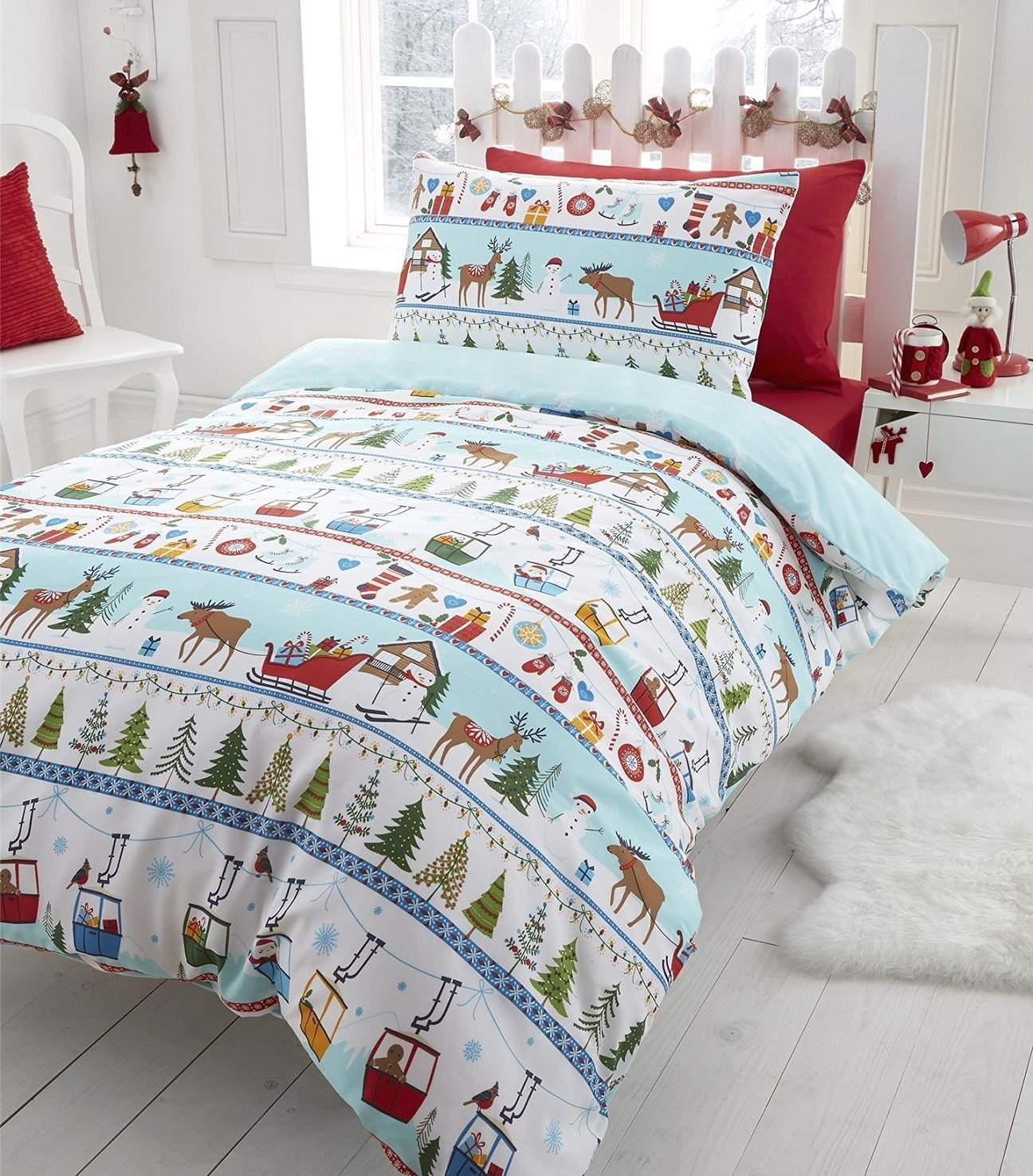 product red cartoon duvet sheet rbvahfojvouaokl winter store online cover girls bedclothes christmas bedding twin set size kids bed plush with boys linen queen velvet