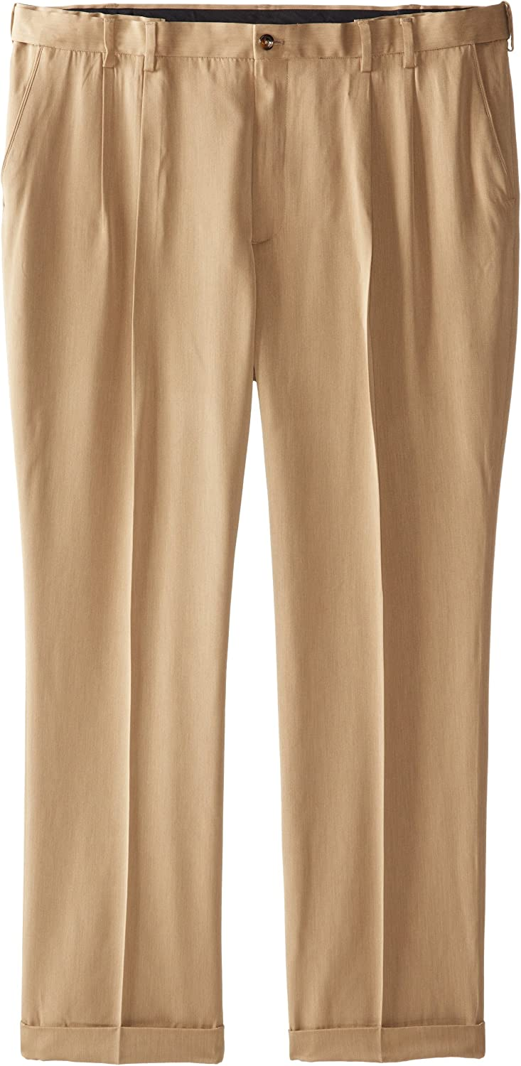 IZOD Mens Big and Tall Ultimate Traveler Pant