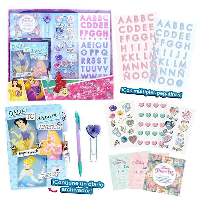 Disney Princesas Kit Grandes Ideas (Cife Spain 41101): Amazon.es: Juguetes y juegos