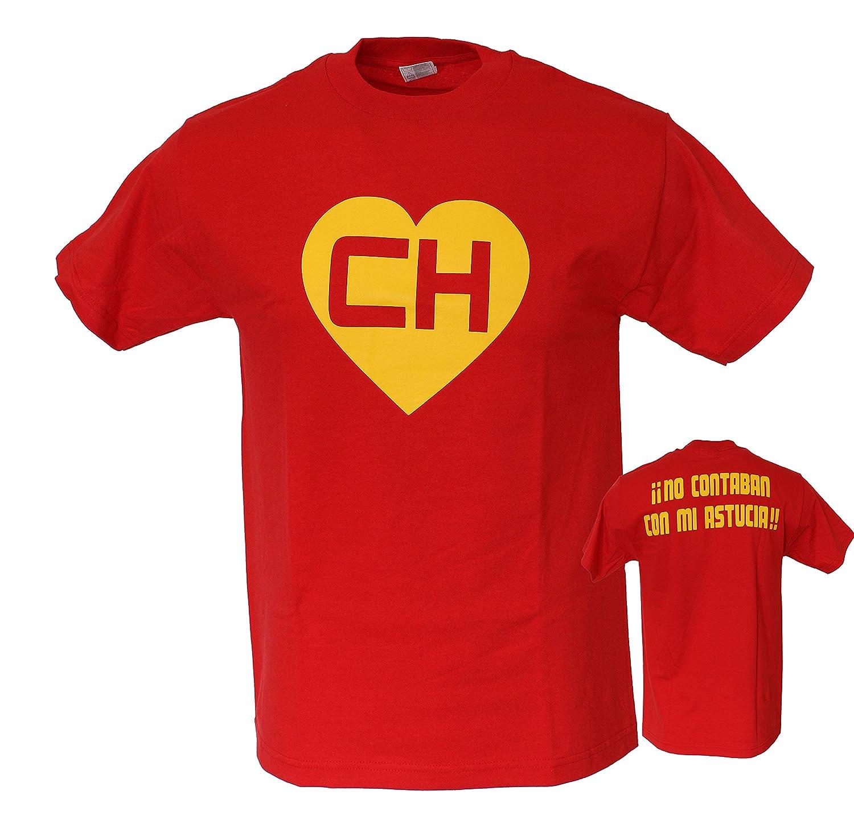 EL Chapulin Colorado EL Chavo CH Chespirito Mens Funny T Shirt
