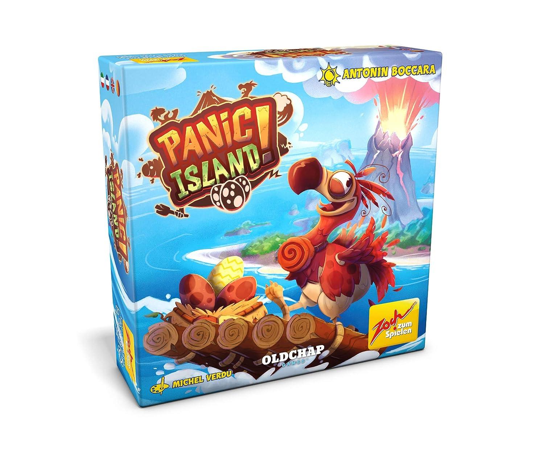 Zoch 601105135 Panic Island - Juego de Cartas y Dados: Amazon.es ...