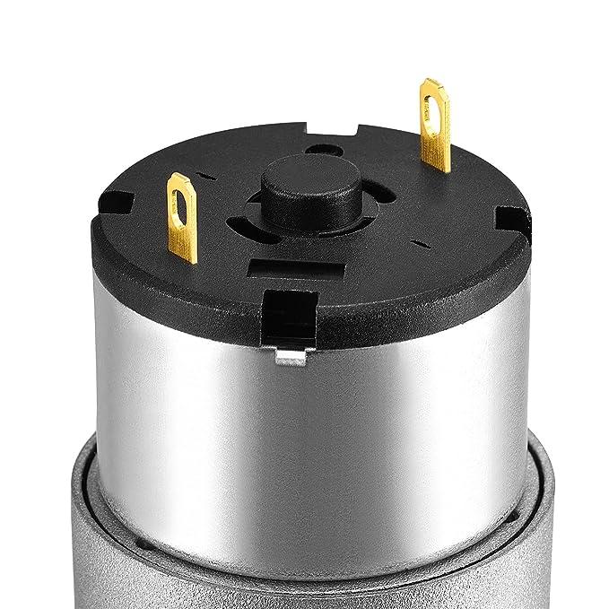 eDealMax 6V 47RPM Micro caja de engranajes del motor eléctrico de corriente continua de alto par motorreductor de baja velocidad - - Amazon.com