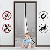 MYCARBON Mosquitera para puerta Protección contra insectos magnético … (110 * 220)
