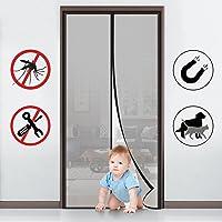 MYCARBON Mosquitera para puerta Protección contra insectos magnético(110