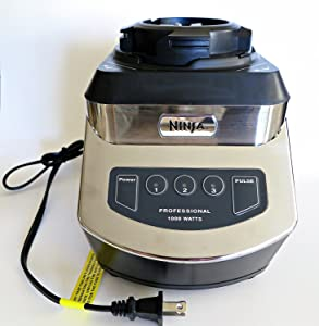 Ninja Kitchen Systems Blender NJ600 1000 Watt Replacement Power Motor Base