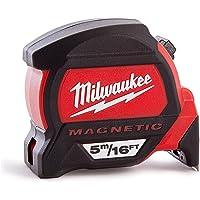 Milwaukee MIL48227216 5M-16 Premium Magnetic Tape Measure, Multicolour