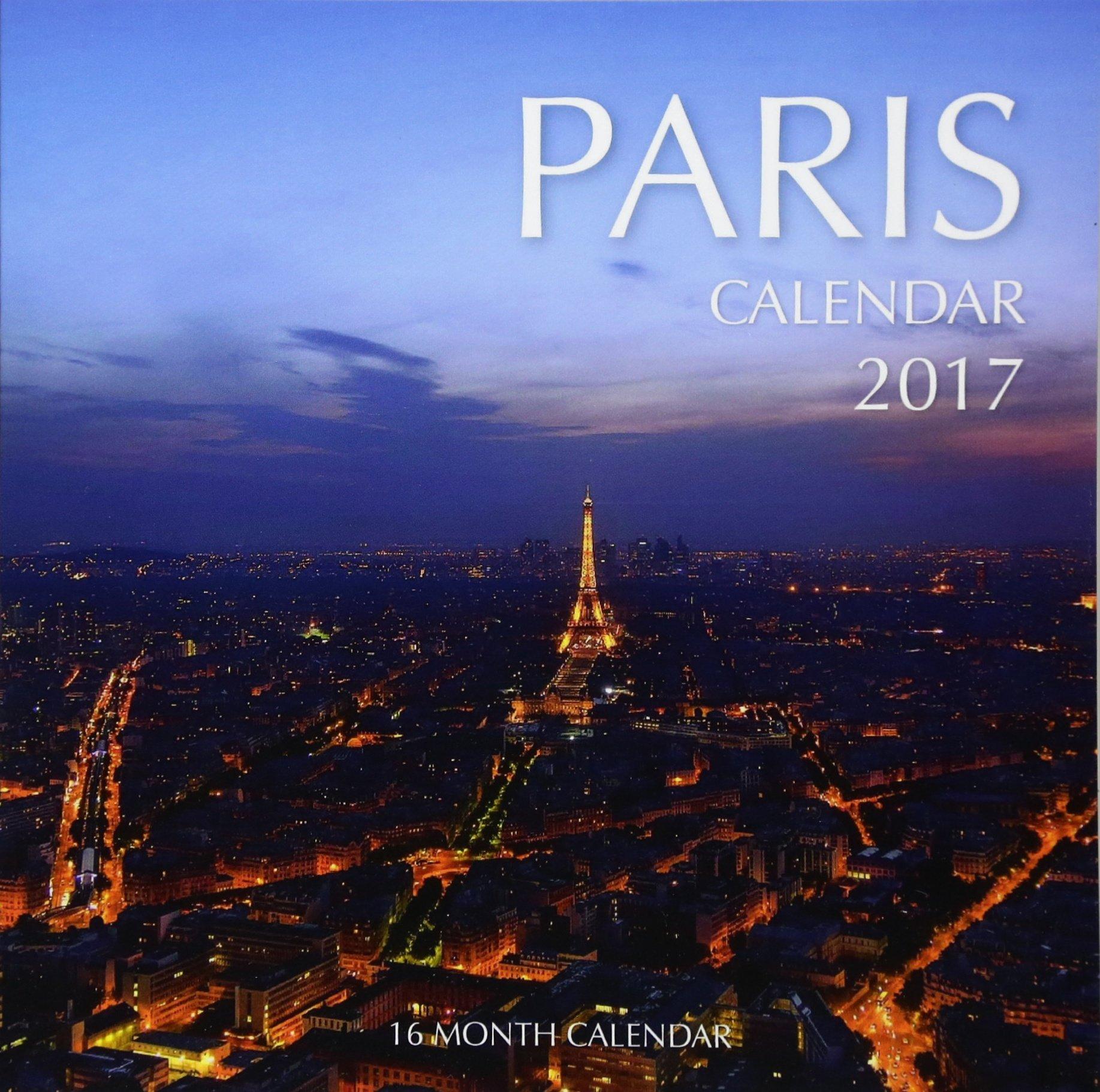 paris calendar 2016 16 month calendar