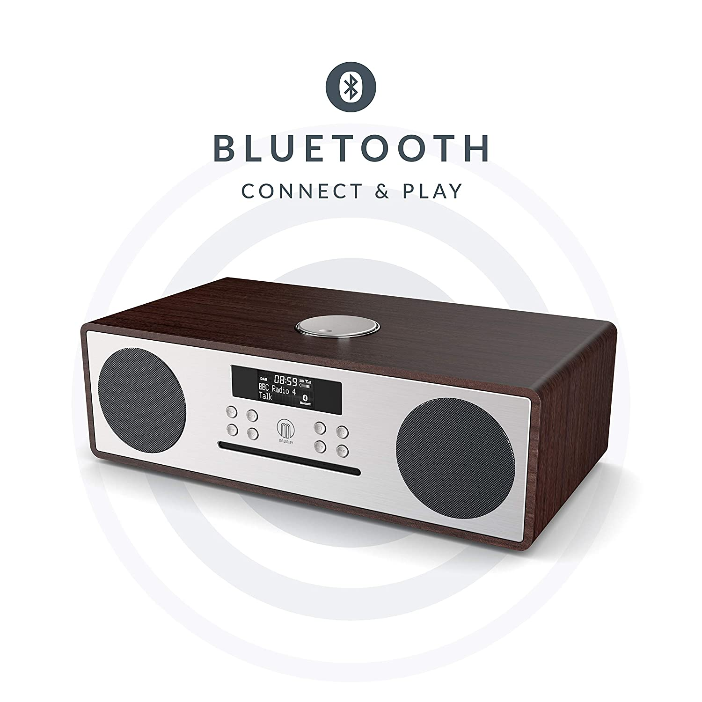 Nye Majority Oakington DAB/DAB+ Digital FM Radio Bluetooth: Amazon.co QV-03