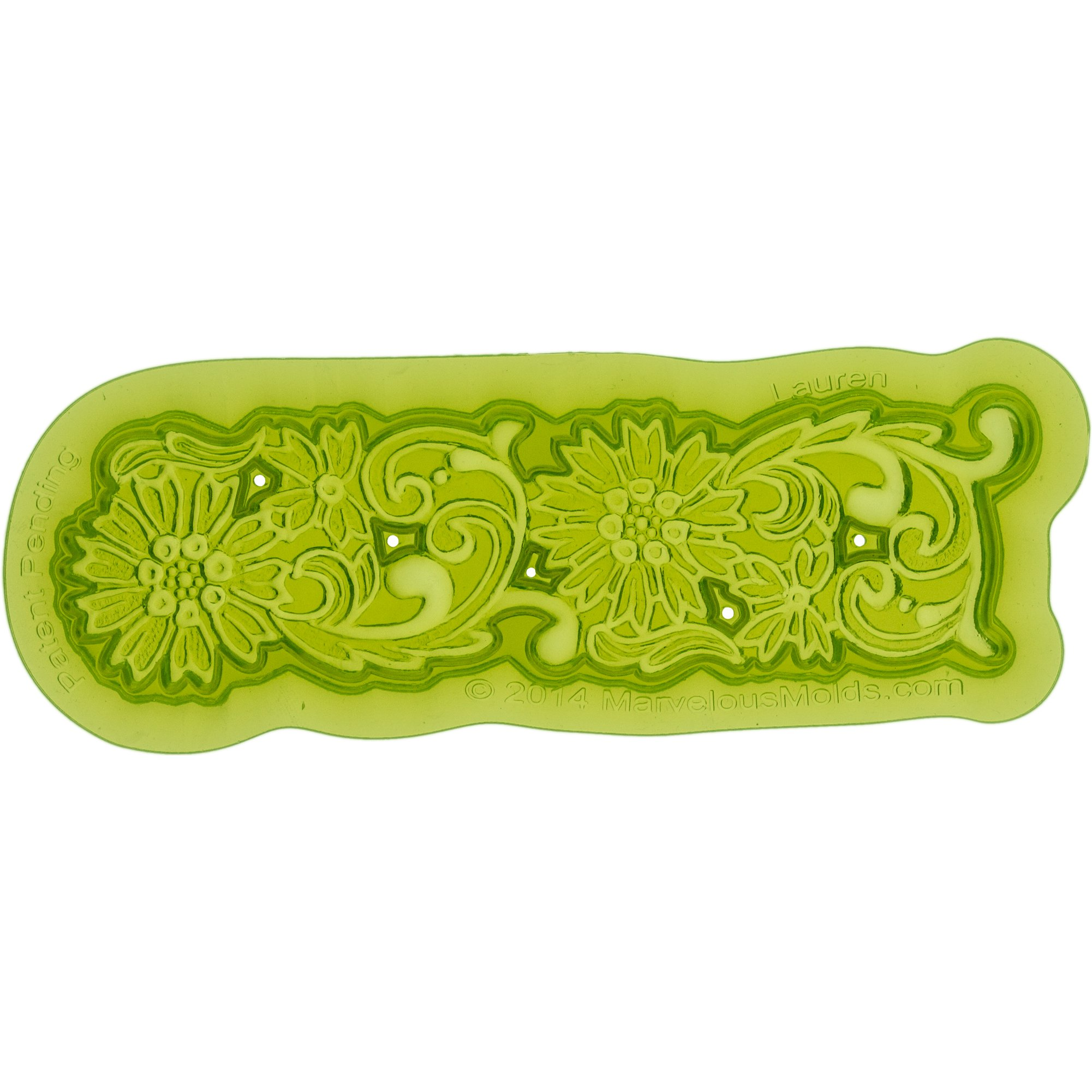 Marvelous Molds Lauren Lace Mold