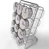 Amazon Price History for:Royal Spice Rack with 12 2.7-Ounce Glass Jars and Stainless Steel Rotating Lids