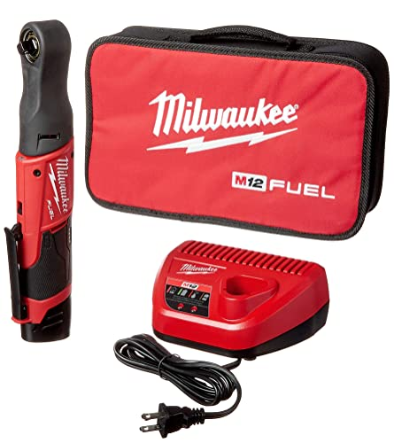 Milwaukee MLW255721 M12 FUEL 3 8 Ratchet Auto Kit