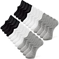 No Show Socks Women,IDEGG Women No Show Casual Low Cutl Socks Anti-slid Athletic Cotton Socks