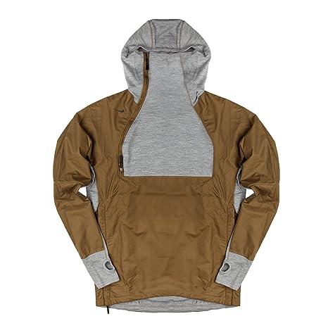 c63d2f02e6b NIKE Men's NikeLab AAE 1.0 1/2 Zip Jacket Hoodie Hazel Rush/Dark ...