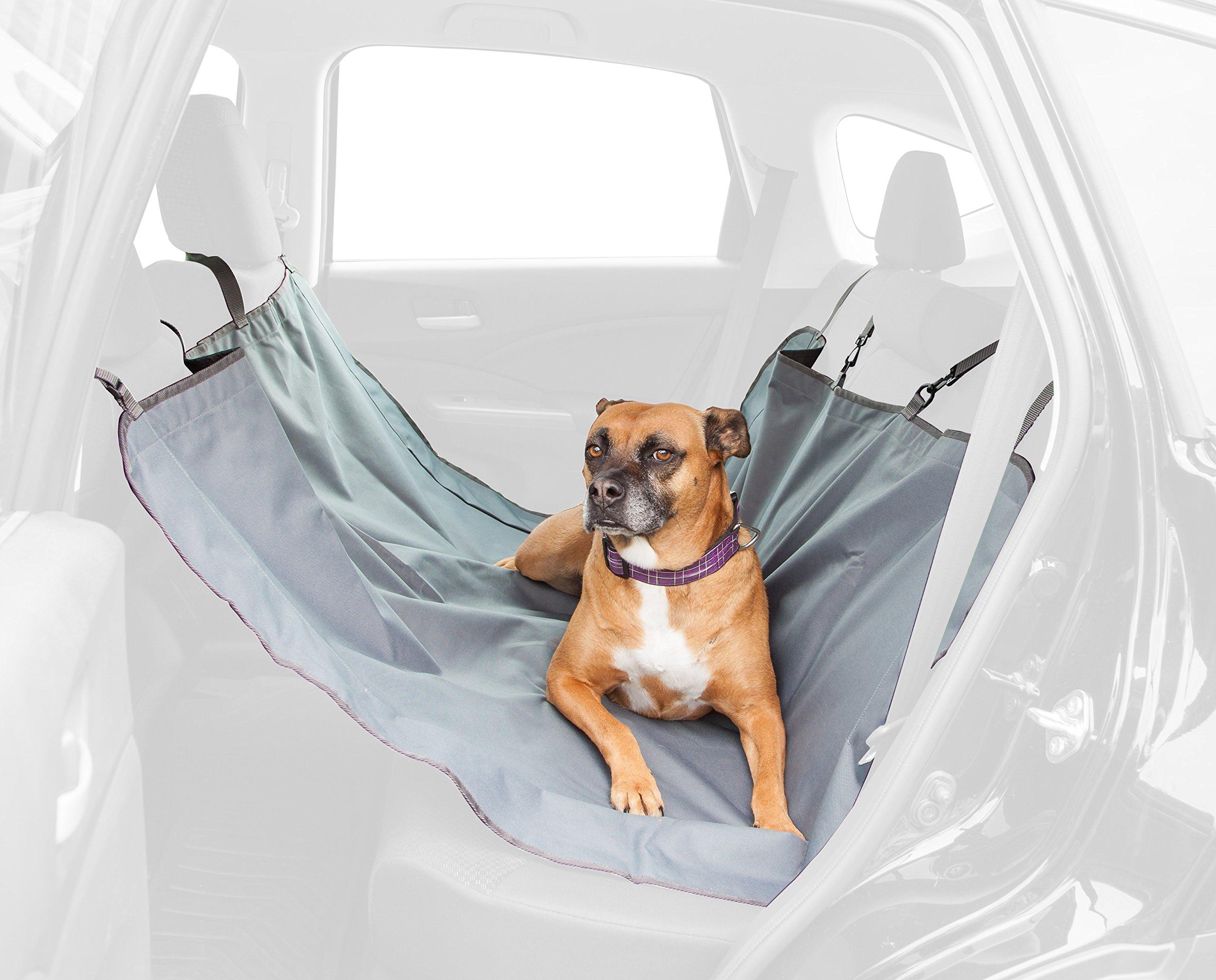IRIS Animal Hammock Seat Cover, Gray
