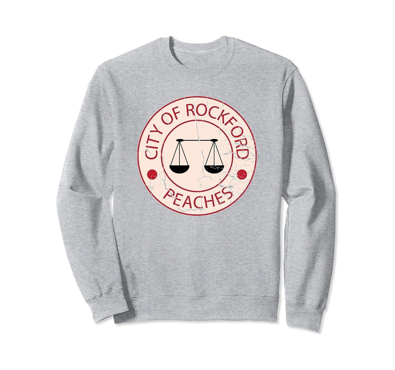 Baseball Shirt Rockford Peaches Shirt Baseball Apparel-alottee gift