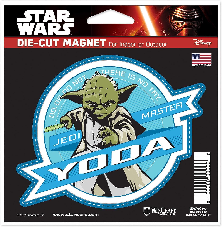 NA Multicolor WinCraft Star Wars Star Wars Star Wars//New Trilogy 2.5 x 3.5 Metal MagnetWinCraft Star Wars//New Trilogy 2.5 x 3.5 Metal Magnet