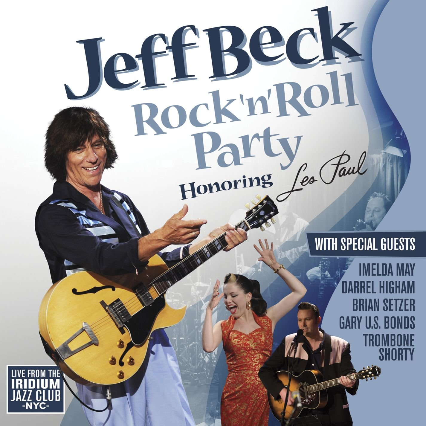 jeff beck rock n roll party honoring les paul music