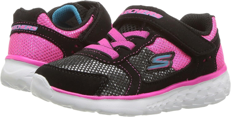 SKECHERS KIDS Girls Go Run 400 Toddler Breathable mesh and