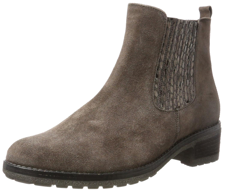Gabor Damen Fashion Stiefel  38.5 EU|Braun (12 Fango/Anthrazit)