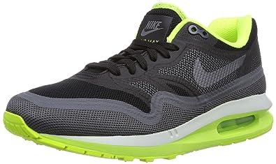 check out d1c5b bd709 ... discount nike womens air max lunar1 running shoes black dark grey volt  3.5 bde45 0049c