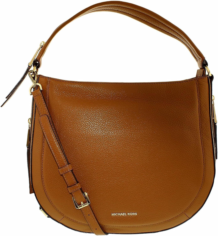 cbf2e4168effc9 Michael Kors Julia Ladies Medium Black Leather Shoulder Bag 30S6GJQL2L-001:  Handbags: Amazon.com