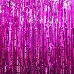 Cortinas metálicas de espuma, UxradG cortina de flecos
