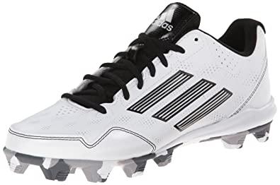 new concept 1fb42 8eff3 adidas Performance Womens Wheelhouse 2 W Softball Cleat,  WhiteBlackMetallicSilver