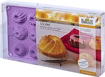 Birkmann 251557 Mini Kuchenform 15 Fach Violett Amazon De Kuche