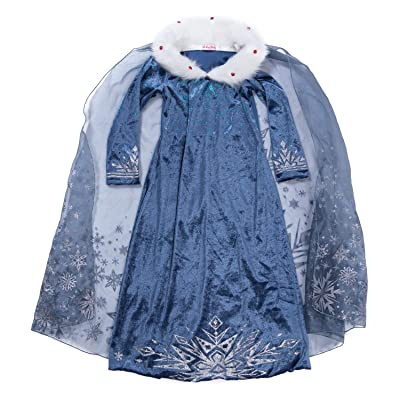 YH New York Elsa Dress for Girls – Frozen Princess Costume Kids Cosplay Costumes: Clothing