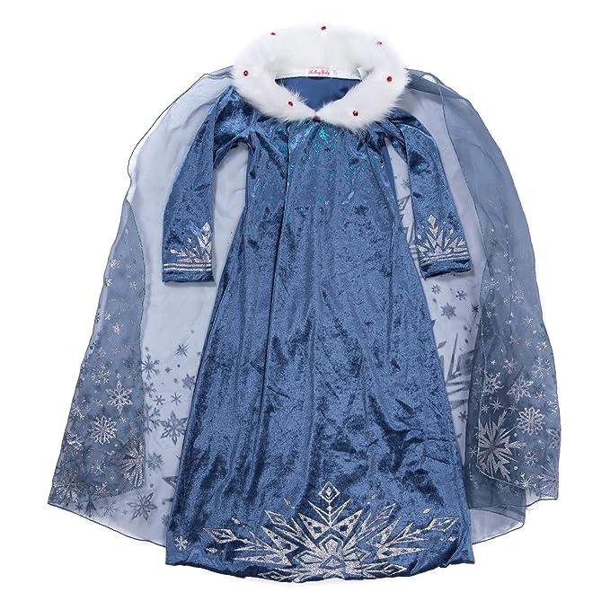 Amazon.com: YH Nueva York Frozen Princess Dress Up Elsa ...